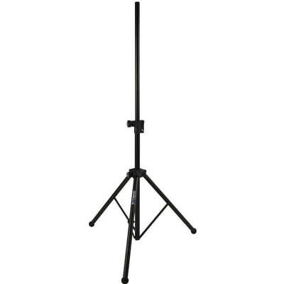 Quiklok Pair Easy Lift Air Cushion Speaker Stands Black
