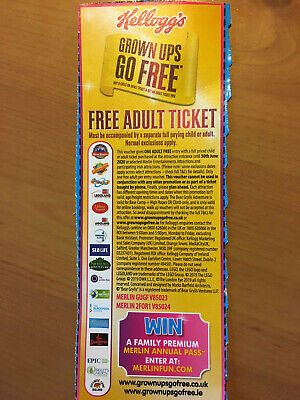 Adult Entry Tickets For Thorpe Park Alton Towers Chessington Legoland Warwick