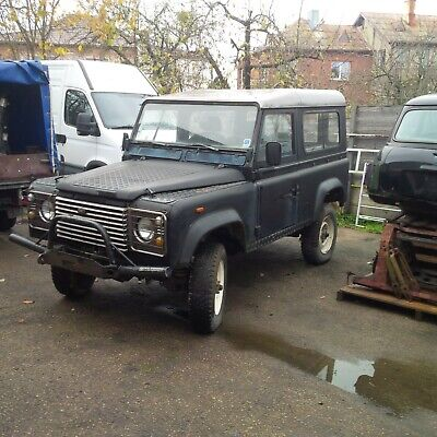 Land Rover Defender 88 90 Oldtimer Diesel Landy 110 Series Soft Top PickUp Serie