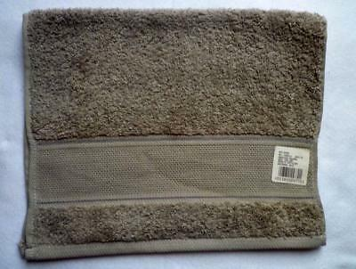 Terry Towel with Aidafeld to Embroidery Medium Grey 30 x 50 CM