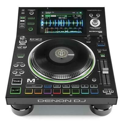 "Denon DJ SC5000M Prime Pro Single Deck Media Player with Platter and 7"" Display"