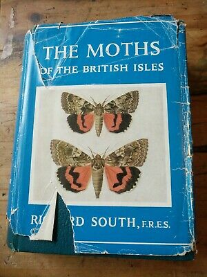 The Moths Of The British Isles By Richard South 1961