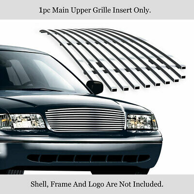For 1998-2012 Ford Victoria Honeycomb Style Upper Stainless Billet Grille