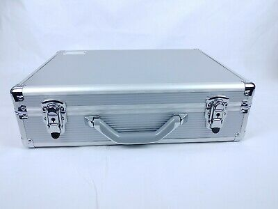 Aluminium Hard Flight Carry Case Key Camera Storage Briefcase