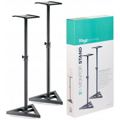 Stagg SMOS-10 SET Adjustable Studio Monitor Stands - Set of 2