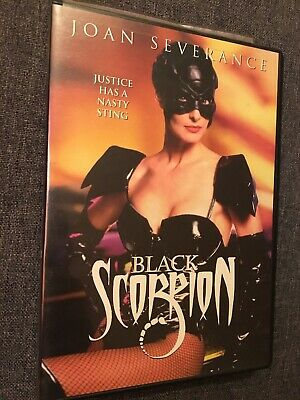 Black Scorpion DVD Joan Severance 1995 New Concorde Rare OOP DISC MiNT