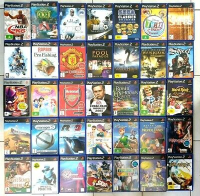 PS2 Games YOU CHOOSE Individual Sale - PlayStation 2 Games