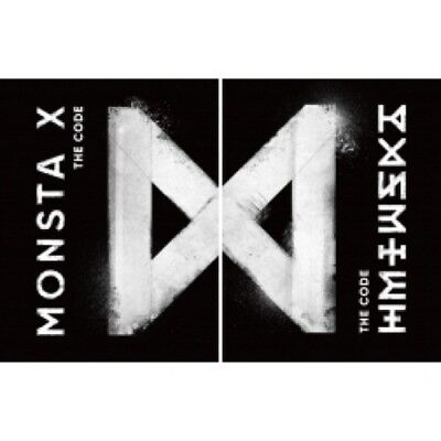 [US SHIPPING] Monsta X-[The Code]5th Mini Album Random Ver CD+Booklet+Card