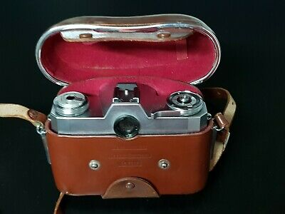 Contaflex 126: Zeiss Ikon Vintage camera made in 1967 to 1971.