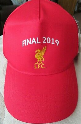 Liverpool Official Champions League Final Madrid 2019 Red Cap