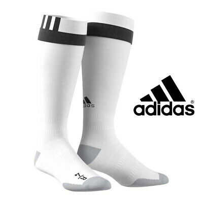 adidas Socks Pro White Football / Rugby Children Uk Sz4 Boys Junior Kids