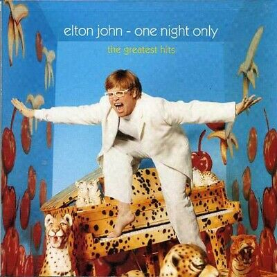 Elton John One Night Only The Greatest Hits CD NEW