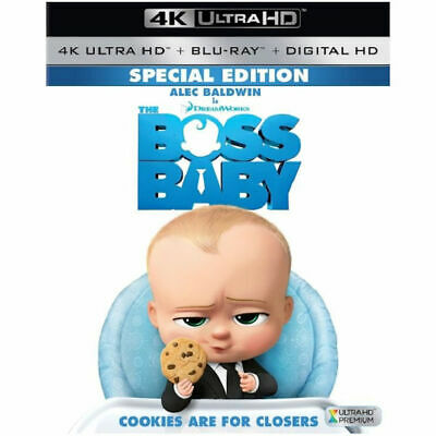 The Boss Baby 4K Ultra HD + Blu-ray Alec Baldwin