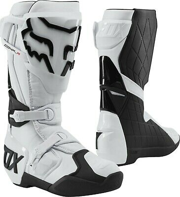 2019 Fox COMP R MX Motocross Boots White Adults