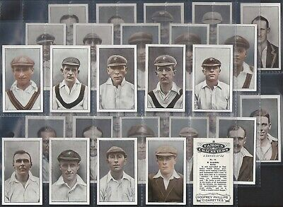 Phillips-Full Set- Famous Cricket Ers (32 Cards) - Exc