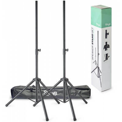 Stagg SPS-0620 BK SET 2pcs Speaker Stands with Bag