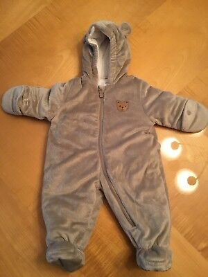 faedeca18 NWT QUIKSILVER LITTLE Rookie Baby Suit One Piece Snowsuit SZ 18 ...