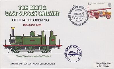 STAMPS STEAM RAILWAY SOUVENIR / FIRST DAY COVER FROM RARE COLLECTION No 001
