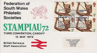 STAMPS STEAM RAILWAY SOUVENIR / FIRST DAY COVER FROM RARE COLLECTION No 020
