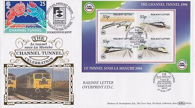 STAMPS STEAM RAILWAY SOUVENIR / FIRST DAY COVER FROM RARE COLLECTION No 033