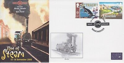 STAMPS STEAM RAILWAY SOUVENIR / FIRST DAY COVER FROM RARE COLLECTION No 047
