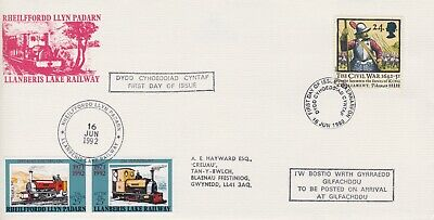 STAMPS STEAM RAILWAY SOUVENIR / FIRST DAY COVER FROM RARE COLLECTION No 054