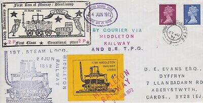 STAMPS STEAM RAILWAY SOUVENIR / FIRST DAY COVER FROM RARE COLLECTION No 064