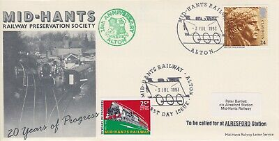 STAMPS STEAM RAILWAY SOUVENIR / FIRST DAY COVER FROM RARE COLLECTION No 067