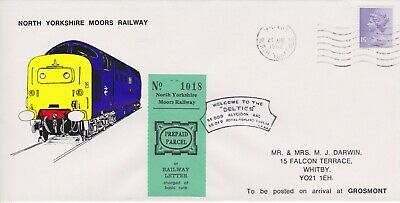 STAMPS STEAM RAILWAY SOUVENIR / FIRST DAY COVER FROM RARE COLLECTION No 073