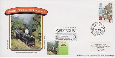 STAMPS STEAM RAILWAY SOUVENIR / FIRST DAY COVER FROM RARE COLLECTION No 075