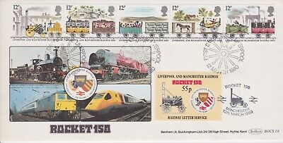 STAMPS STEAM RAILWAY SOUVENIR / FIRST DAY COVER FROM RARE COLLECTION No 098