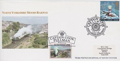 STAMPS STEAM RAILWAY SOUVENIR / FIRST DAY COVER FROM RARE COLLECTION No 104