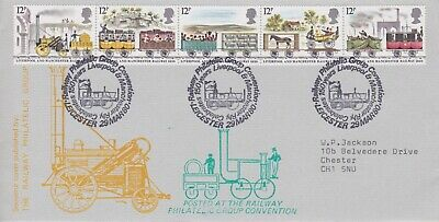 STAMPS STEAM RAILWAY SOUVENIR / FIRST DAY COVER FROM RARE COLLECTION No 115