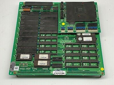 Capcom Street Fighter 2 Hyper PCB, B&C-Boards, Tested Working, Arcade, Jamma