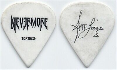 Nevermore Jeff Loomis authentic 2008 concert tour custom stage band Guitar Pick