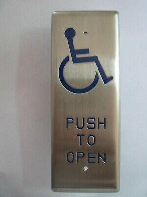Disabled PushTo Open switch for Automatic door