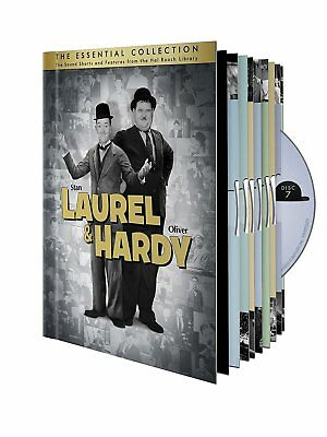 Laurel  Hardy: The Essential Collection.  NEW.
