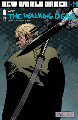 The Walking Dead #179 - 1St Print - Image - Bagged And Boarded. Free Uk P+P