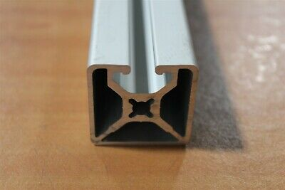 "80/20 Aluminum Extrusion 15 Series 1501-LS x 48"" Long SC F1-09"