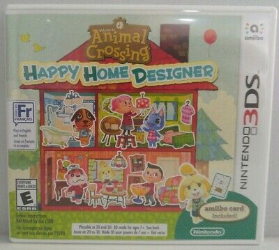 Animal Crossing Happy Home Designer for Nintendo 3DS N3DS CIB Clean & Tested