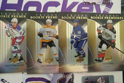 2018-19 UD Trilogy Rookie Premieres /999 Level 1 Pick from the List