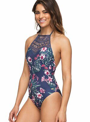 c17418e0262 ROXY SURFING USA One Piece Swimsuit - Women's - Small, Blue 4th of ...