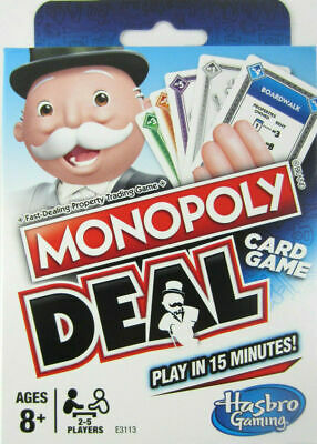 Monopoly Deal Card Game no board Parker Brothers