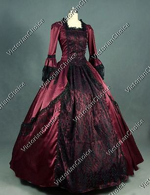 b2a6325f3746f Renaissance Marie Antoinette Prom Masquerade Ball Gown Gothic Dress 142 XL