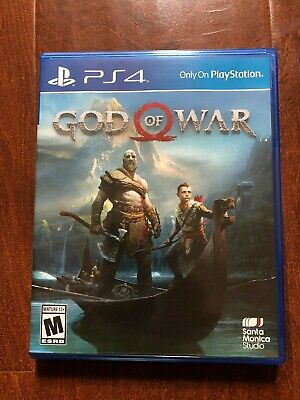 *Slightly Used in Great consition* God of War (Sony PlayStation 4, PS4 2018)