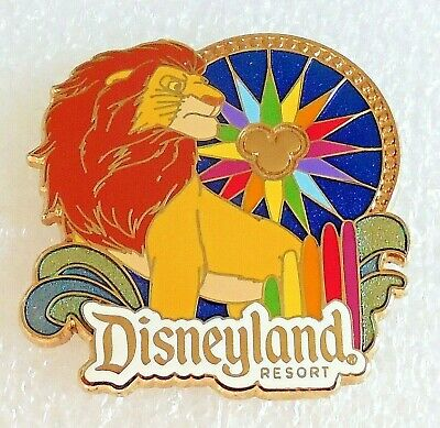 Japan Disney King Simba The Lion King Stained Glass Film Magic Pin
