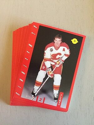 1991-92 Iga Grocery Calgary Flames Team Set
