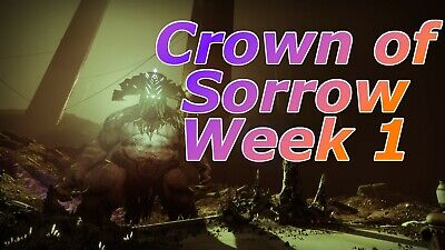 [PC] Destiny 2 Crown of Sorrow guaranteed FULL completion