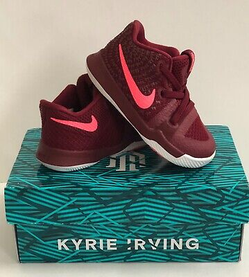 ad0b887ea5 NIKE Kyrie 3 Infant/Toddler Shoes 5C ~ Kyrie Irving Red Toddler Shoes 5C
