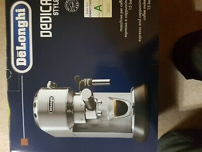 Brand New Delonghi Dedica Style Chrome Coffee Machine.box Never Opened